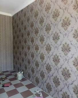 Wallpapers dinding design elegan Wallpaper nuansa mewah