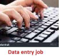 Apply now for data entry manual typing job available here