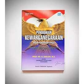 Buku PENDIDIKAN KEWARGANEGARAAN untuk Perguruan Tinggi