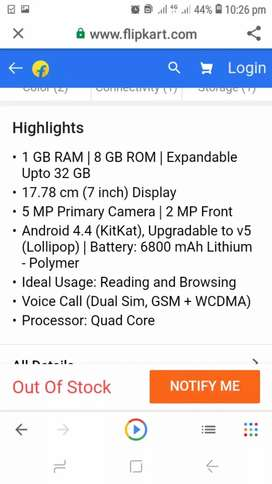 Micromax p480 tabe for sale