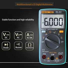 RICHMETERS Pocket Size Digital Multimeter AC/DC Voltage Tester RM101