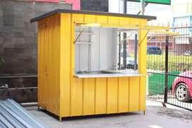 Booth Semi Container / Booth Untuk Usaha Menengah