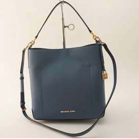 MK LG Hayes Bucket Denim Bag