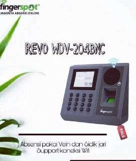 mesin absensi telapak tangan revo wdv 204 bnc