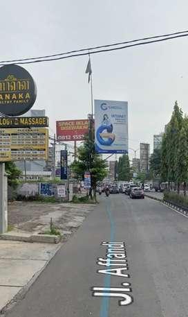 Tanah Strategis Pinggir Jl Affandi Gejayan Sleman Yogyakarta Dijual