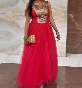 Stylish barbie gown