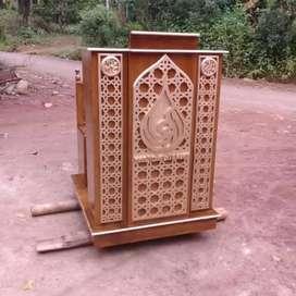 mimbar masjid terlaku musola