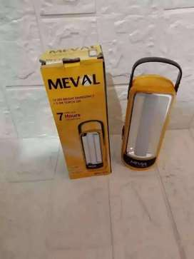 PROMO  SENTER MEVAL ME2-12A 2IN1 LAMPU EMERGENCY+SENTER RECHARGER
