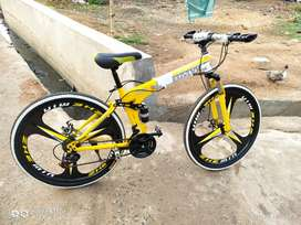 BMW Foldable MTB With 21 Shimano Gears