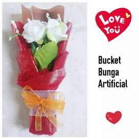 Mini Bucket Bunga Artificial