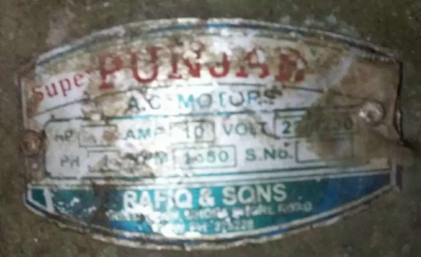 2 horse power motor for sale in good working condition 0