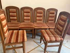 Dining chairs -Set of 6