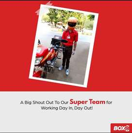 DELIVERY BOY HIRING   BOX8   FASTEST GROWING FOOD COMPANY
