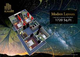 3 bed luxury Flat/Apartment for Sale in CDA Approved B-17 Islamabad.