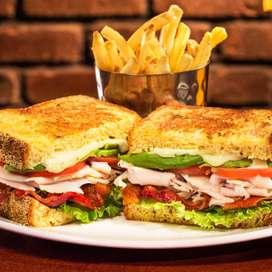 juice and sandwich cafe @ ashoknagar