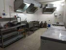 6 months old road side commercial kitchen setup at R.G.Baruah road