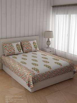 Bed Sheets jaipur printed