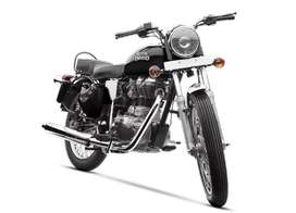 Own Royal Enfield at 100% Finance with EMI upto 05 Years