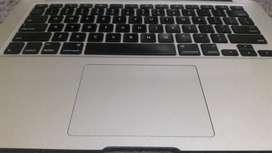 Keyboard Trackpad dan Top Case Macbook Air 13 Copotan Original 2014