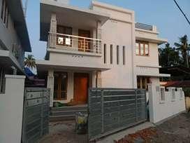 3 bhk 1400 sqft 3.5 cent new build at aluva paravur road thattampady