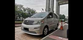 For sale alphard mzg type tertinggi good condition, low kilometer