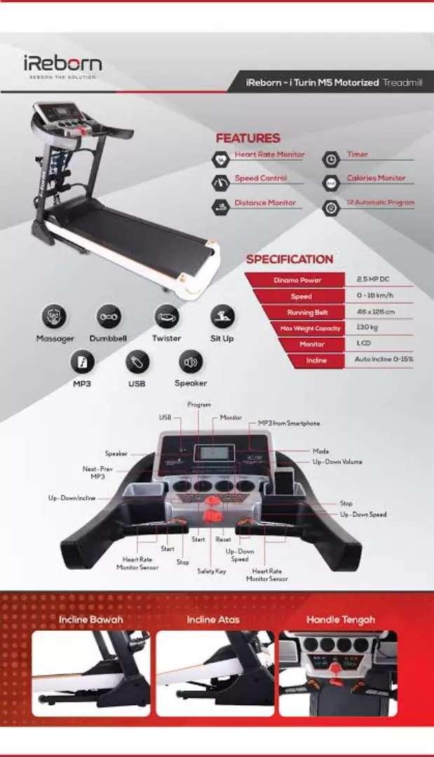 treadmill elektrik iturin M-882 electric treadmil 0