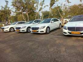 BENZ S 500 for rent with driver for marriage in KERALA Kochi etc