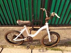 Sepeda anak UK ban 16 siap pakai ban masih tebal