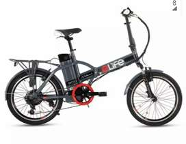 E life Bicycle company(Adult Bicycle)(Grey color) (Electric Axylatter)