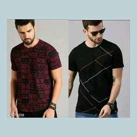 Urbane Retro Men Tshirts Fabric (combo pack)
