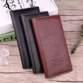 Dompet panjang pria dengan Slot Pusat Kartu
