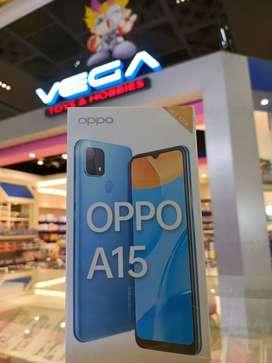 Oppo A15 3/32 CASH CC0% AEON HCI KREDIVO AKULAKU BANDUNG