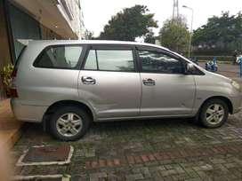 Toyota Kijang Innova 2.0 Tipe G Tahun 2006 Akhir Silver