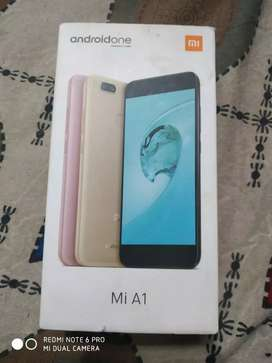 Mi A1 good condition nd work easily