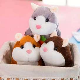 Talking Hamster boneka lucu bisa bicara