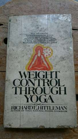 Buku Vintage Impor Weight Control Through Yoga