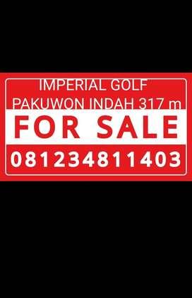 DIJUAL  KAVLING PAKUWON INDAH IMPERIAL