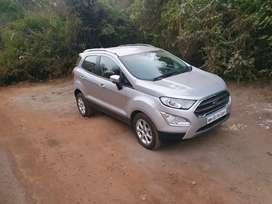 Ford EcoSport Titanium Plus Petrol Automatic 2019 August