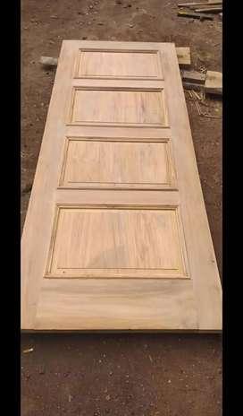 Pintu dan kusen kayu jati bergaransi
