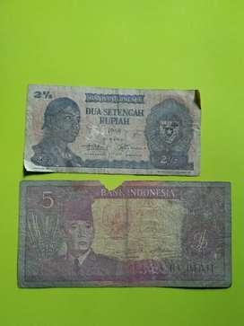 Uang kertas sukarno