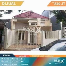 Dijual Rumah baru gress Strategis  di Tondano Barat sawojajar Malang