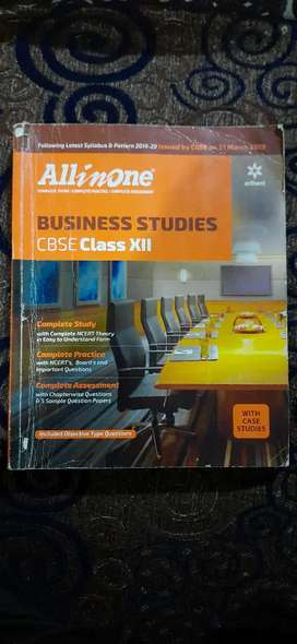 Class 12 All in one Bussiness studies