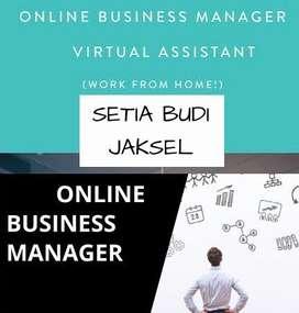 DICARI ONLINE BUSINESS MANAGER AREA SETIA BUDI JAKSEL