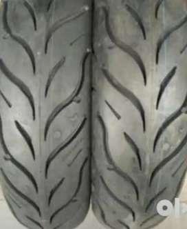 Pulsar 220 back tyre