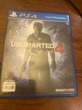 game uncharted 4 ps4