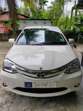 Toyota Etios 2011 Petrol, Excellent Running Condition, Well Maintained