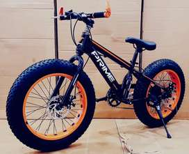 Fat Tyre bicycle for kids