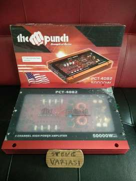 Power Audio Transparan 4 Channel The Punch by Steve Variasi Olx