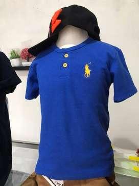 Baju Polo kancing Anak
