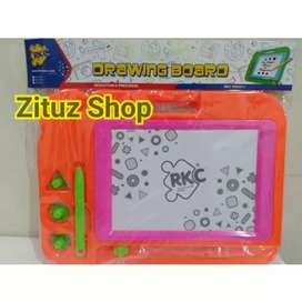 Mainan papan tulis magnet papan tulis anak mainan edukasi mainan murah
